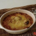 李王家スンドゥブチゲと豆乳のグラタン